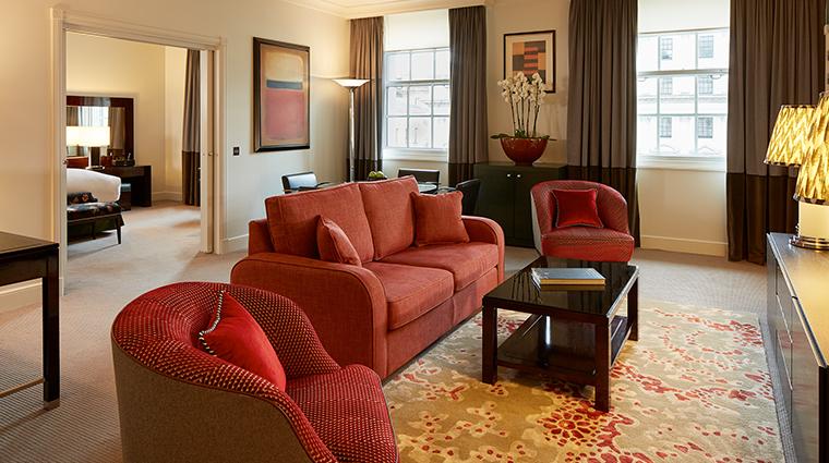 the sofitel london st james suite lounge