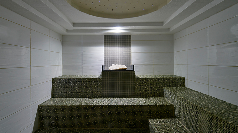 the spa at carillon miami beach crystal steam room