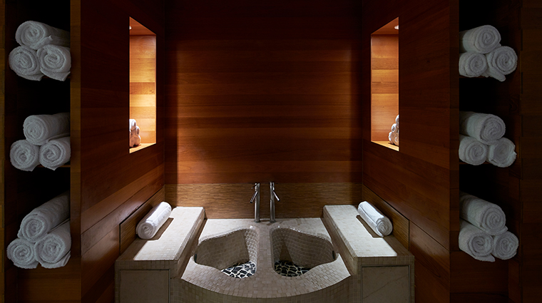 the spa at carillon miami beach thermal footbath