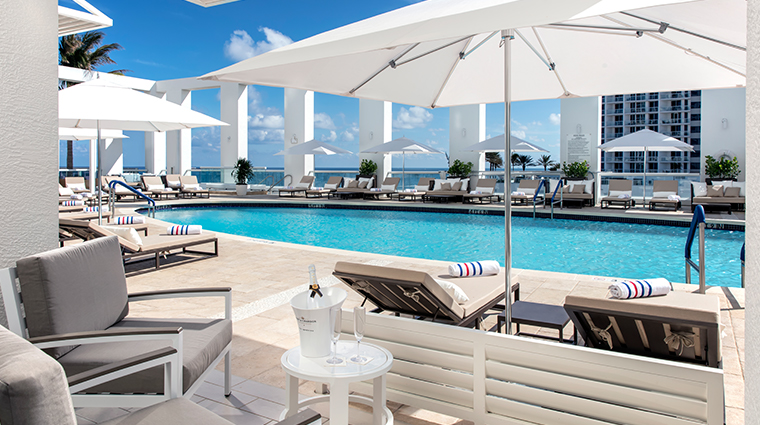 the spa at conrad fort lauderdale beach pool day