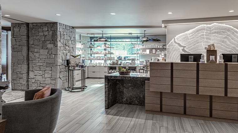 the spa at edgewood tahoe reception