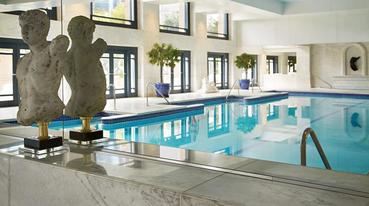 the spa at four seasons hotel atlanta pool reflection