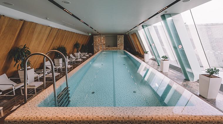 the spa at four seasons hotel gresham palace budapest pool