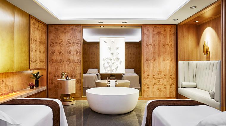the spa at four seasons hotel madrid cabina doble jazmin