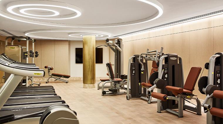 the spa at four seasons hotel madrid gym