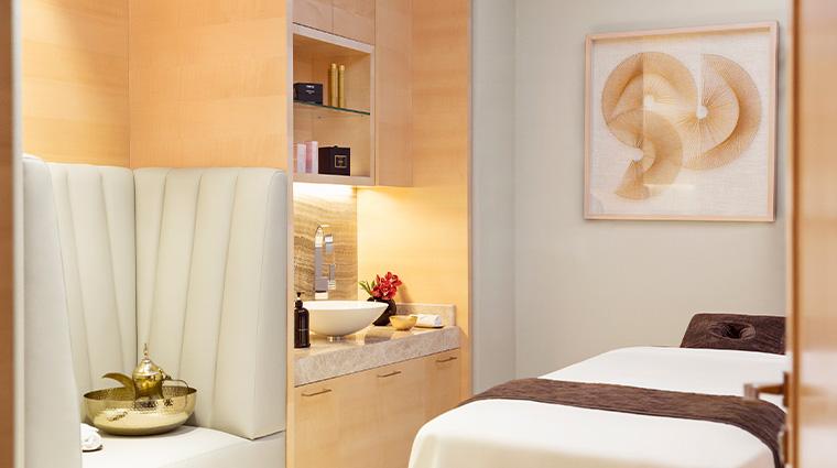 the spa at four seasons hotel madrid treatment room