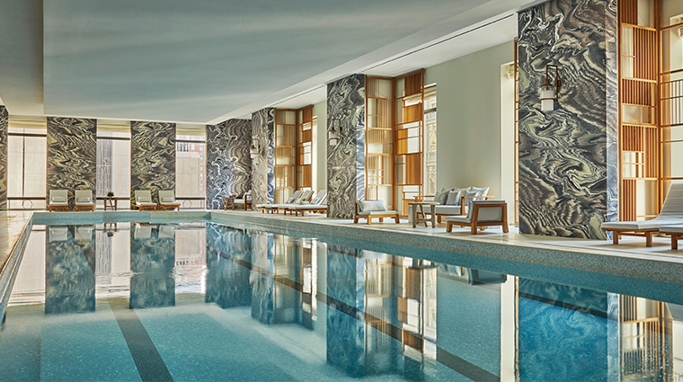 the spa at four seasons hotel new york downtown pool