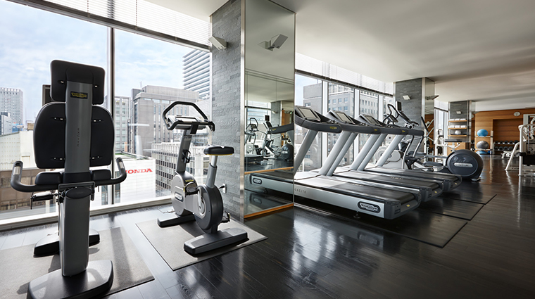 the spa at four seasons hotel tokyo at marunouchi fitness gym