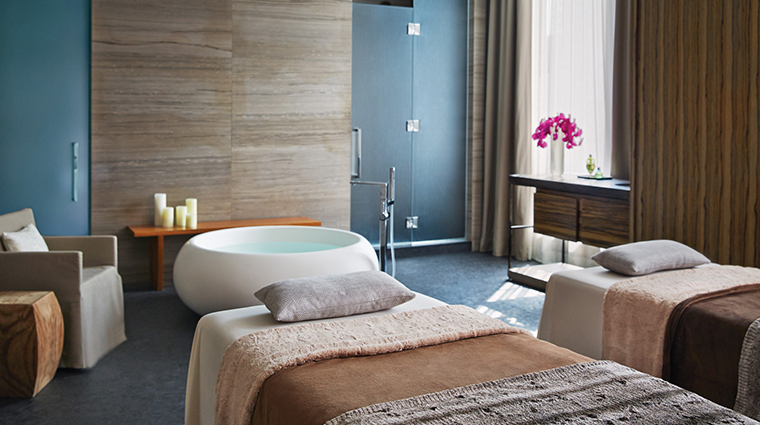 the spa at four seasons hotel toronto double treatment room