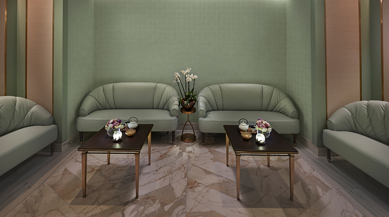 mandarin oriental doha spa tea lounge