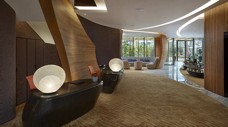 the spa at mandarin oriental jumeira dubai reception