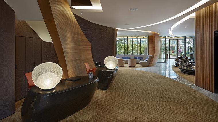 the spa at mandarin oriental jumeira dubai reception