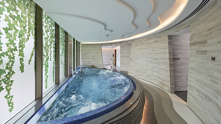 the spa at mandarin oriental jumeira dubai vitality pool