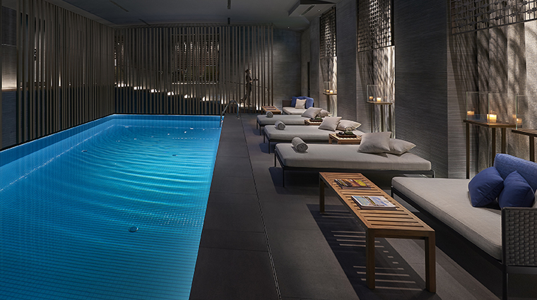 the spa at mandarin oriental milan pool