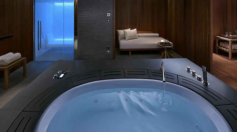 the spa at mandarin oriental milan vip suite