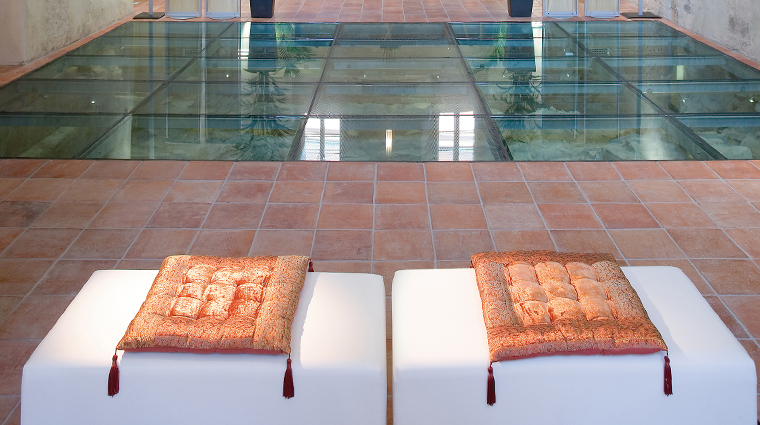 the spa at mandarin oriental prague pool