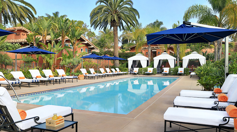 the spa at rancho valencia pool