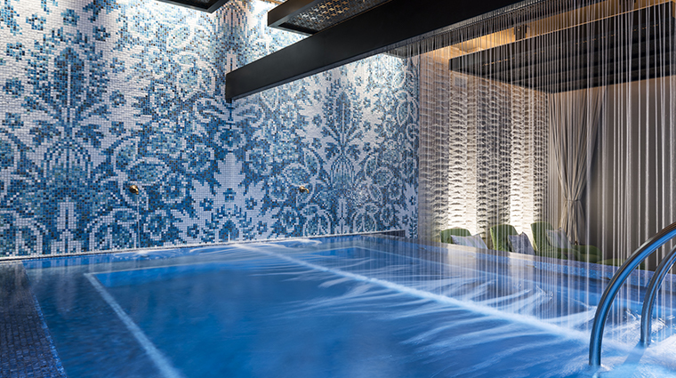 the spa at seafire indoor pool