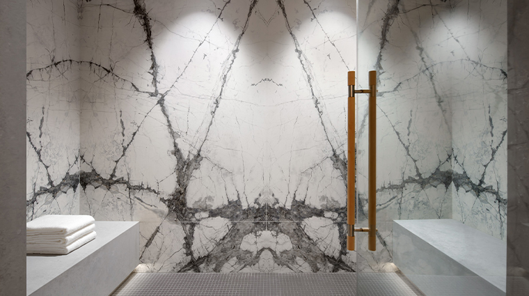 iridium spa at the st regis toronto Steamroom