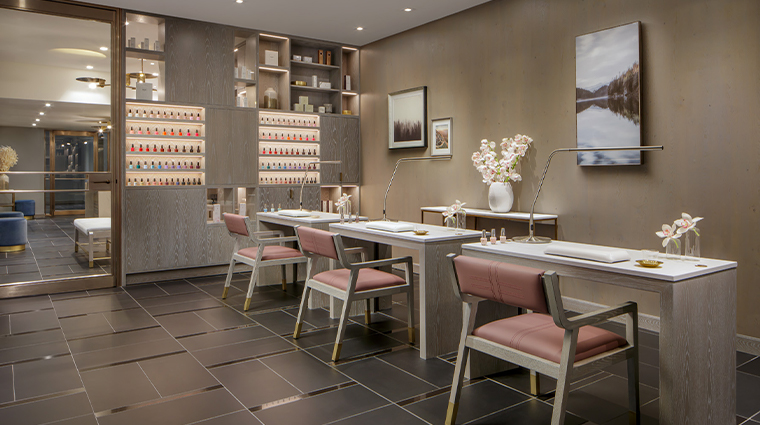iridium spa at the st regis toronto nail salon