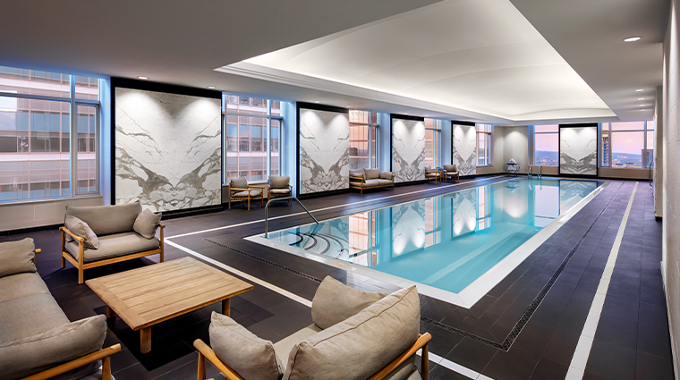 iridium spa at the st regis toronto pool
