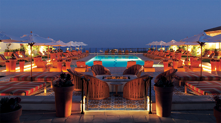 the spa at terranea dusk