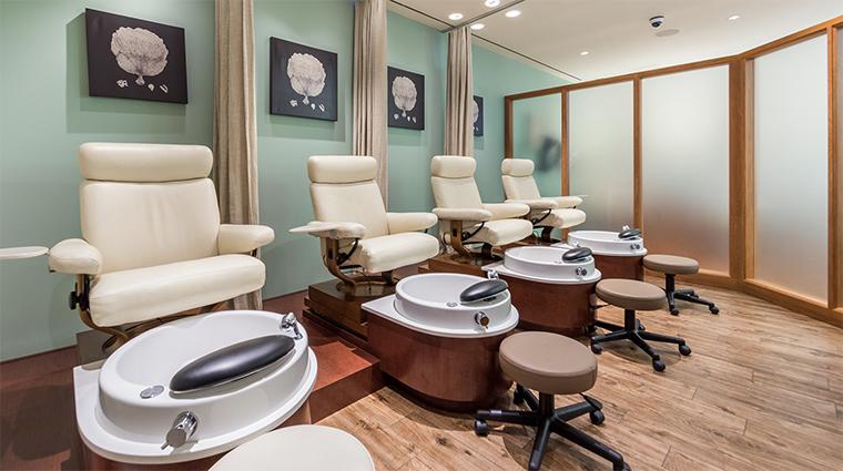 the spa at terranea salon