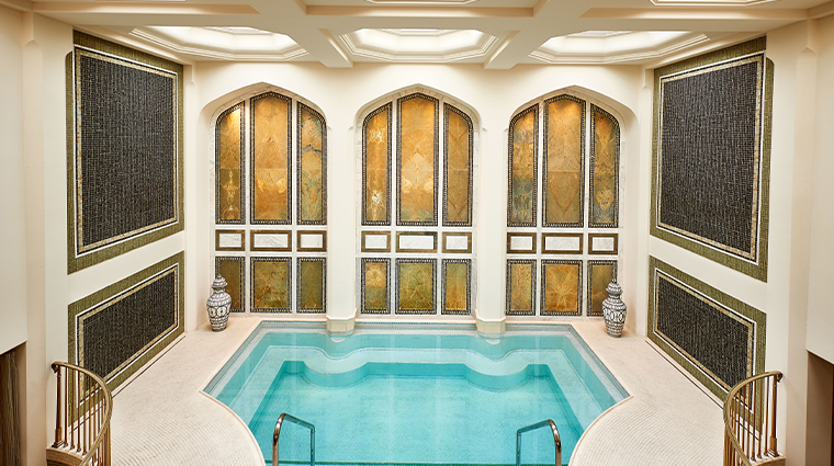 the spa at the maybourne beverly hills mineral pool