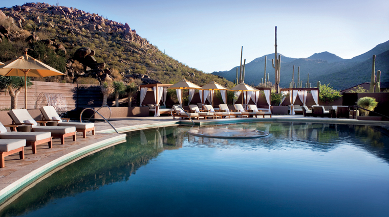 the spa at the ritz carlton dove mountain pool
