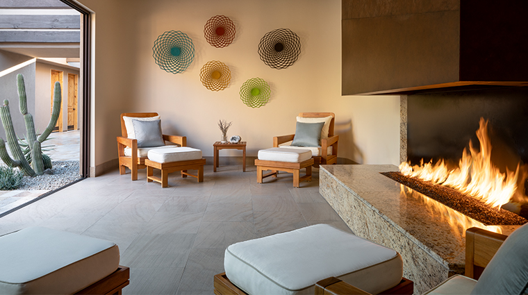 the spa at the ritz carlton dove mountain spa coed lounge