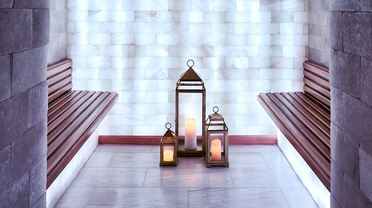 the spa by ivanka trump at trump international hotel washington dc Himalayan Salt Chamber
