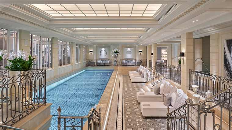 the spa four seasons hotel george v paris pool