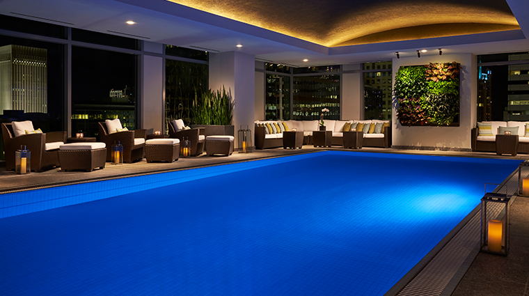 the spa wellness center pool
