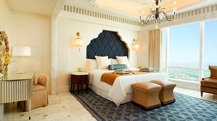 the st regis abu dhabi AlMushref Suite Bedroom