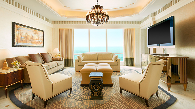 the st regis abu dhabi AlMushref Suite Living Room