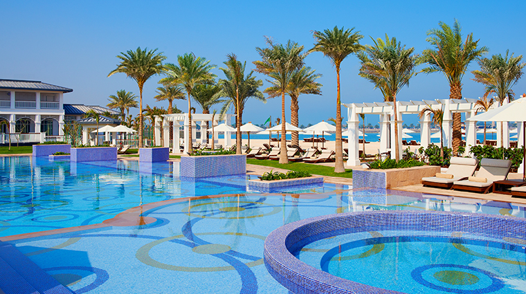 the st regis abu dhabi Nation Riviera Beach Club Swimming Pool