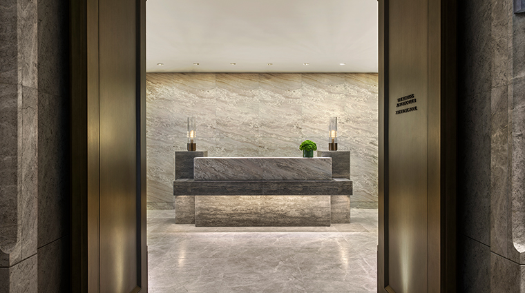 the st regis hong kong spa entrance