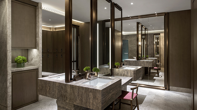the st regis hong kong spa shower room
