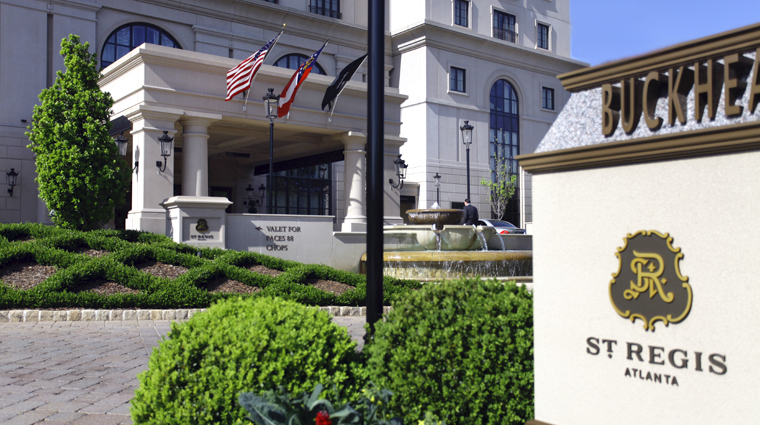 PropertyImage TheStRegisAtlanta Atlanta Hotel Exterior 3 CreditTheFiveStarTravelCorporation