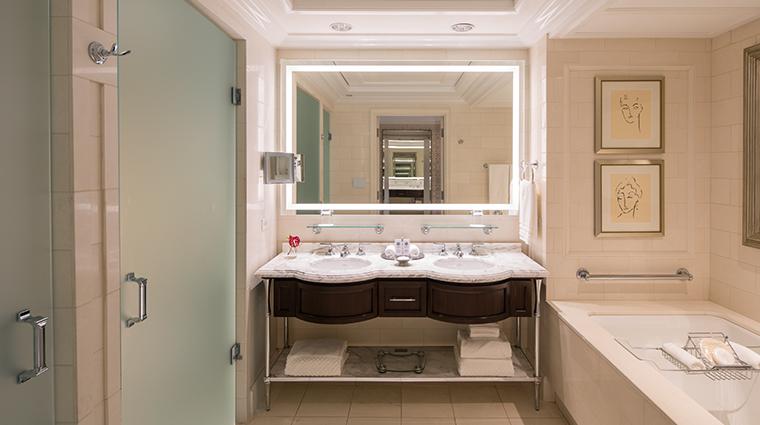 the st regis atlanta caroline astor suite bathroom
