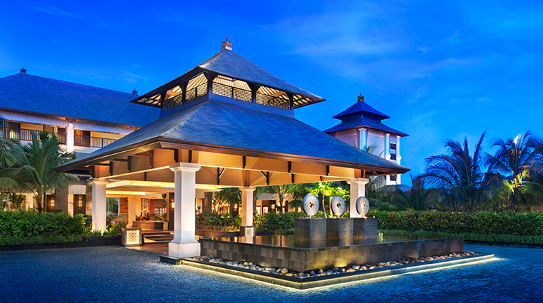 the st regis bali resort PorteCochere