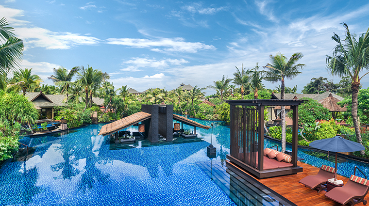 the st regis bali resort lagoon
