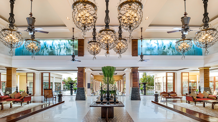 the st regis bali resort lobby