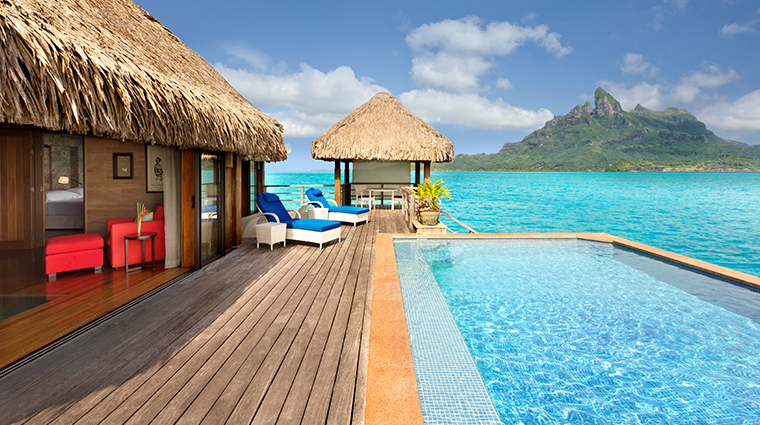 the st regis bora bora two bedroom villa pool