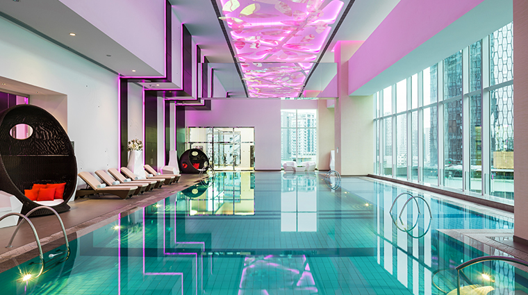 the st regis chengdu swimming pool