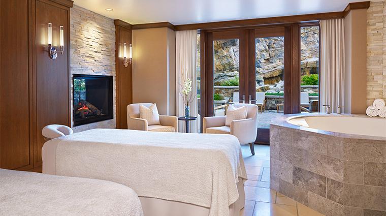 the st regis deer valley couples spa suite