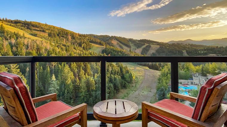 the st regis deer valley view