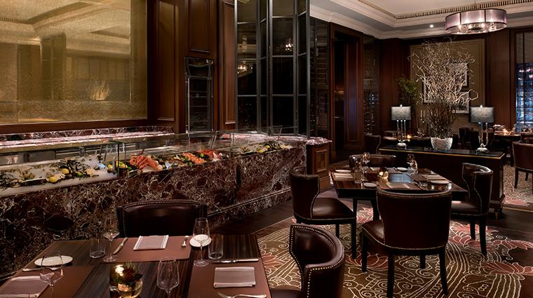 the st regis dubai JandG steakhouse raw bar