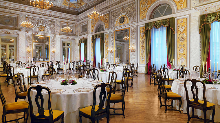The St Regis Florence dining
