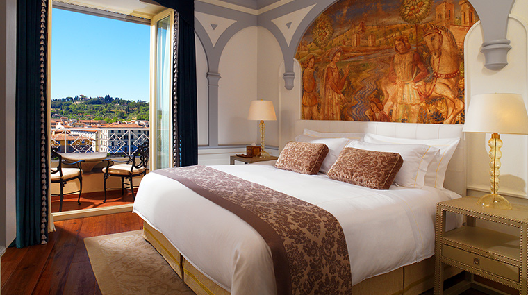 The St Regis Florence grand deluxe suite